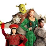 Amelia Lily And L R Samuel Holmes Steffan Harri Marcus Ayton Shrek The Musical 2018 Uk And Ireland Tour Credit Helen