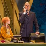 Annie Alex Bourne As Daddy Warbucks And Annie1