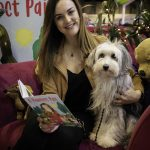 Britains Got Talent Star Ashleigh Butler Reads Inspirational Storybook About A Dog And Their Owner To Children On The Eukanuba Stand At Crufts