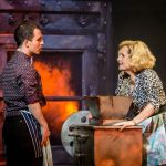Wno  Sweeney  Todd   George  Ure  Tobias  Ragg And  Janis  Kelly  Mrs  Lovett   Photo Credit  Johan  Persson  04118 700X455