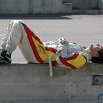 Dg Resting In Race Overalls