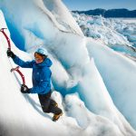 Ice  Climbing On The Claving Glacier