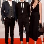 Dave Berry George Shelley And Lilah Parsons Red Carpet Arrivals Brit Awards 2016 1456342266 View 1